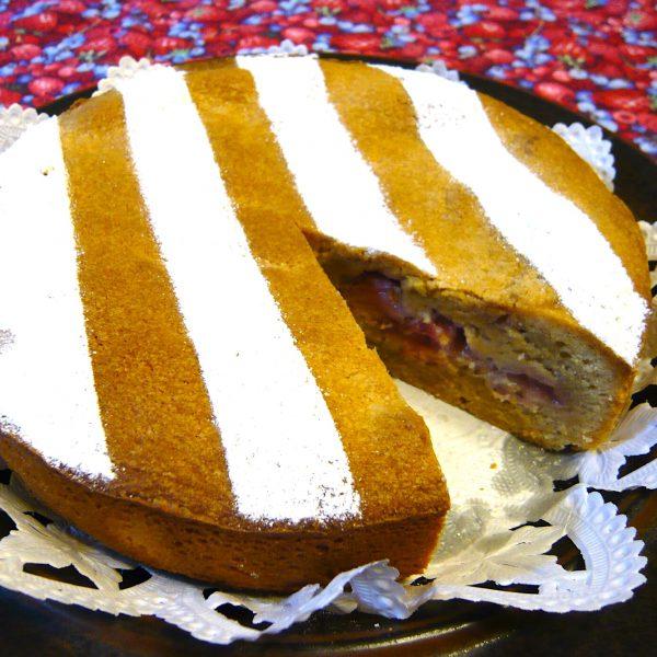 苺のスパイスケーキ