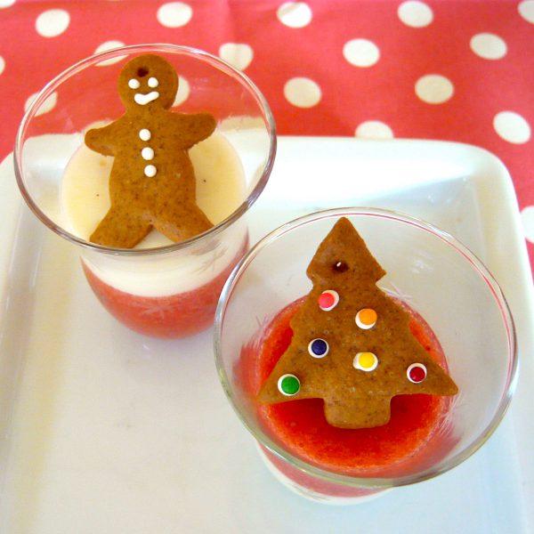 苺ミルクゼリークリスマス用